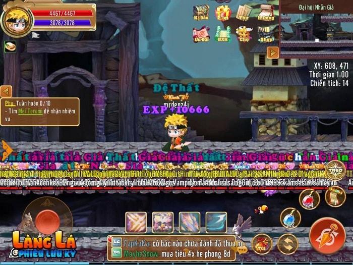 Hình ảnh optimized bvyr của Làm sao để nhanh lên cấp trong game Làng Lá Phiêu Lưu Ký? tại HieuMobile