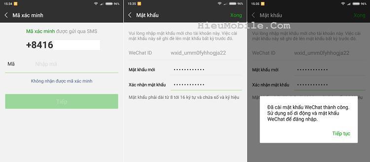 Hình ảnh optimized cip5 của Hướng dẫn lấy lại mật khẩu ứng dụng Wechat khi lỡ bị quên mất tại HieuMobile