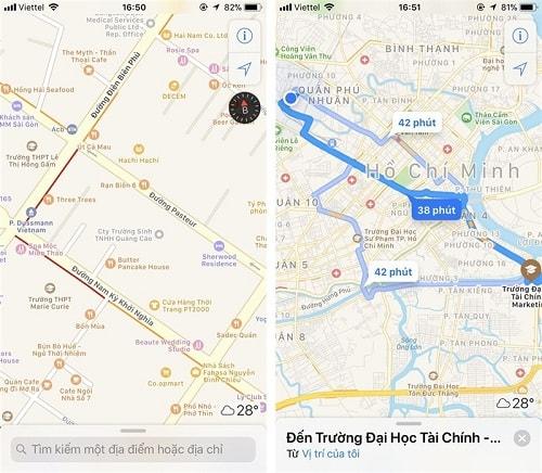 Hình ảnh optimized cjfh của Hướng dẫn kiểm tra điểm kẹt xe bằng ứng dụng bản đồ Apple Maps tại HieuMobile