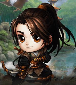Hình ảnh nhân vật Thần Điêu Đại Hiệp trong game Anh Hùng Online