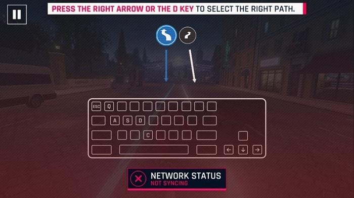 Điều khiển bằng các nút trên bàn phím tốt hơn nhiều trên màn hình cảm ứng