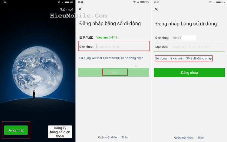 Hình ảnh optimized mid7 của Hướng dẫn lấy lại mật khẩu ứng dụng Wechat khi lỡ bị quên mất tại HieuMobile