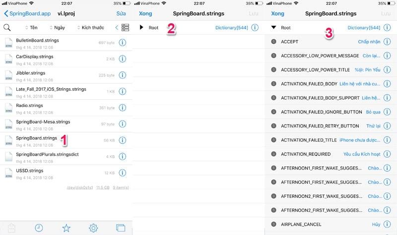 Hình ảnh optimized nmmw của Các bước thay đổi nội thông báo PIN YẾU cho iPhone không cần jailbreak tại HieuMobile