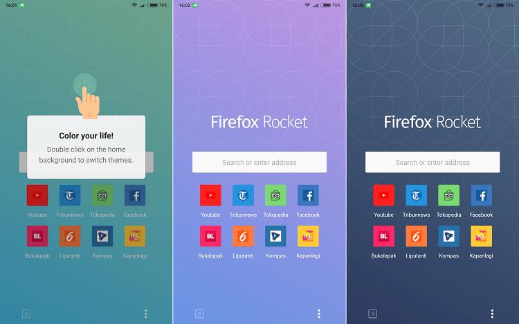 Hình ảnh optimized pazr của Tải Firefox Rocket: Siêu nhẹ, có turbo, đổi màu nền và thiết kế đơn giản tại HieuMobile