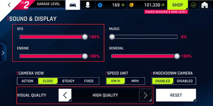 Hình ảnh optimized u9aq của Hướng dẫn max setting đồ họa và đổi cách điều khiển Asphalt 9 Legend tại HieuMobile