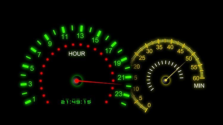 Hình ảnh xvQ47 của Chia sẻ 9 screensaver đồng hồ đẹp và miễn phí cho máy tính Windows tại HieuMobile