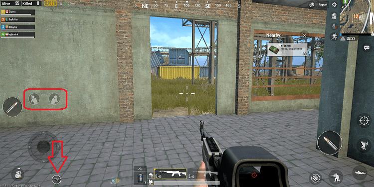 Người chơi có thể tự bổ sung chế độ góc nhìn thứ nhất và nghiên đầu né đạn vào PUBG Mobile phiên bản quốc tế