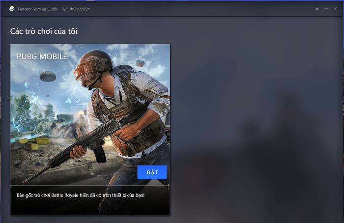 Hình ảnh optimized de0d của Tải Tencent Gaming Buddy: Hỗ trợ chơi PUBG Mobile trên máy tính tốt nhất tại HieuMobile