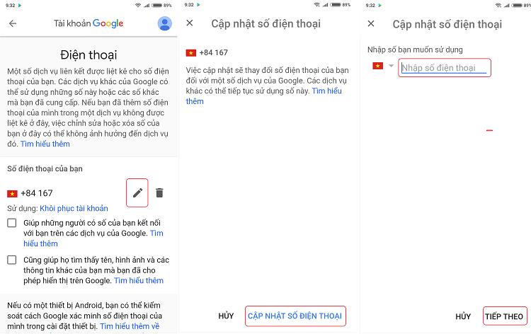 Hình ảnh optimized dgca của Hướng dẫn đổi số điện thoại Gmail trên điện thoại và máy tính tại HieuMobile