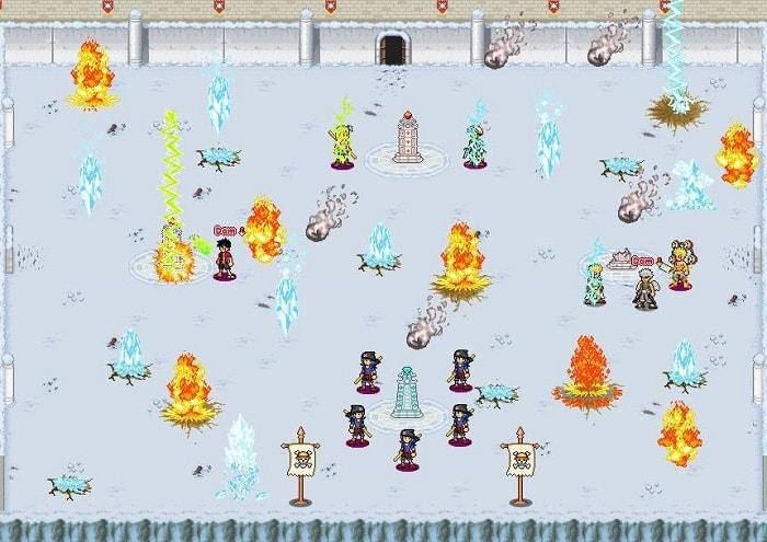 Toàn cảnh một trận chiếm đảo của hoạt động Chúa Đảo trong game Hải Tặc Tí Hon