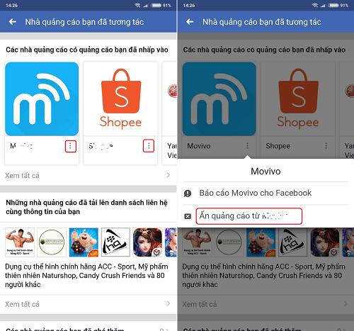 Hình ảnh optimized kbej của Các bước xóa và chặn quảng cáo không phù hợp trên Facebook tại HieuMobile