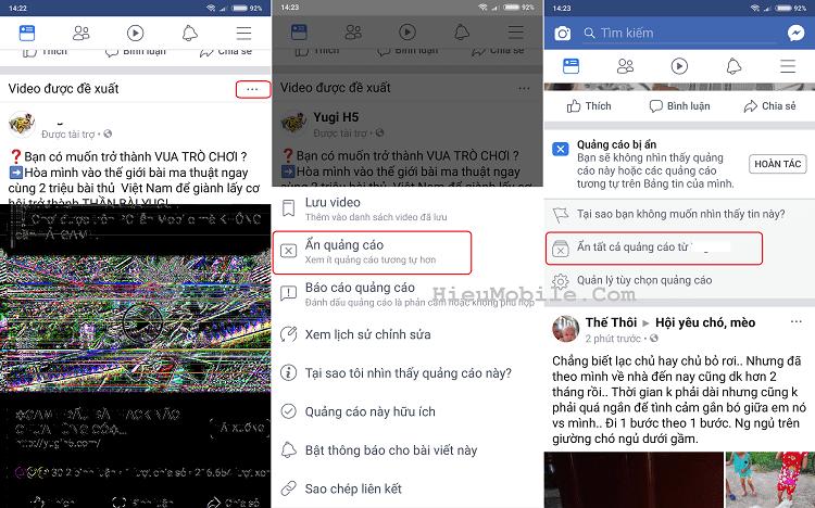 Hình ảnh optimized l9kb của Các bước xóa và chặn quảng cáo không phù hợp trên Facebook tại HieuMobile