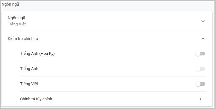 Hình ảnh optimized llan của Tắt kiểm tra chính tả gạch đỏ dưới chân văn bản cho máy tính Win 10 tại HieuMobile