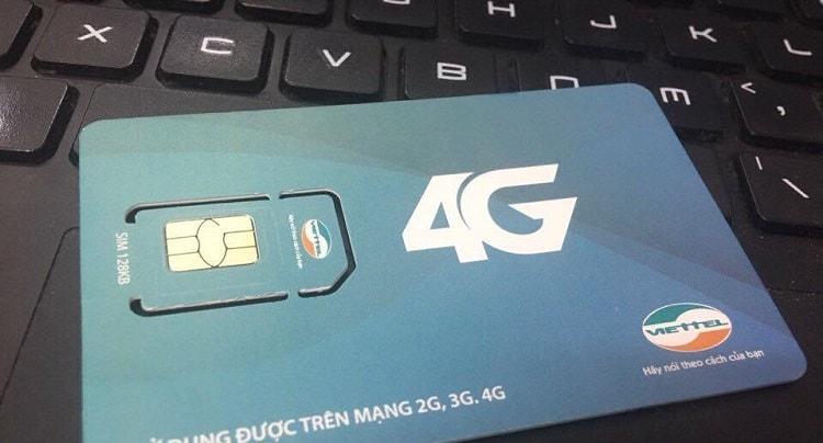 Các ưu đãi khuyến mãi dành cho SIM 4G Viettel mới