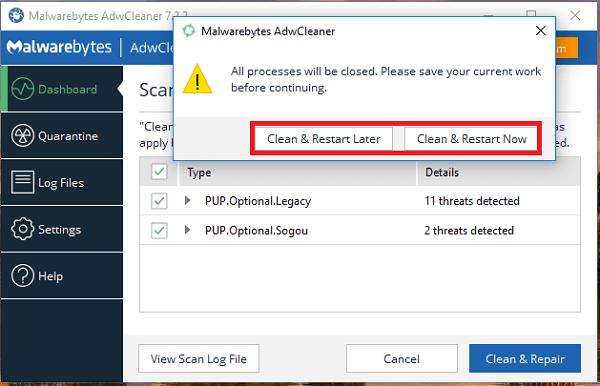 Hình ảnh optimized staw của Tải AdwCleaner: Phần mềm quét virus quảng cáo cho Chrome và Firefox tại HieuMobile