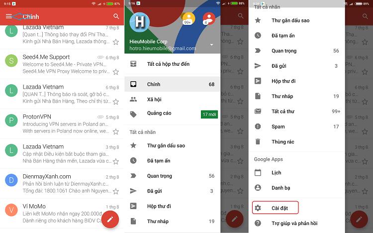 Hình ảnh optimized tcwi của Hướng dẫn đổi số điện thoại Gmail trên điện thoại và máy tính tại HieuMobile