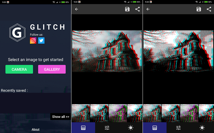 Hình ảnh optimized vrtg của Tải Onetap Glitch - Ghép ảnh nhòe màu ghê rợn giống phim kinh dị tại HieuMobile