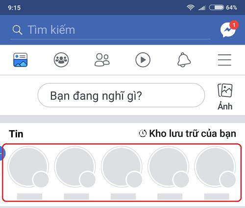 Không nhìn thấy bảng tin mặc dù có kết nối mạng và các nội dung khác vẫn hiển thị bình thường là một lỗi thường gặp trên Facebook