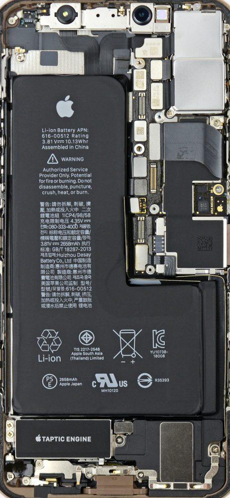 Hình ảnh  của Chia sẻ hình nền iPhone trong suốt nhìn xuyên thấu linh kiện máy cực đẹp tại HieuMobile