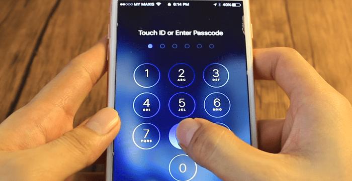 Nhập mật khẩu sai nhiều lần thì iPhone sẽ hiển thị thông báo đếm ngược thời gian 60 giây mới cho chúng ta thao tác tiếp