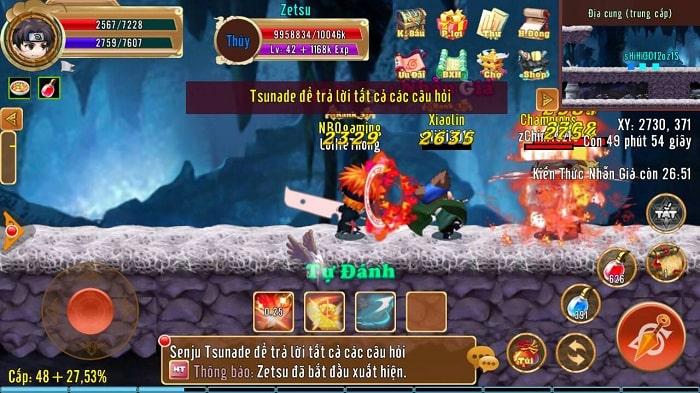 Hình ảnh optimized 4gqu của Thông tin chi tiết phó bản Địa Cung của game Làng Lá Phiêu Lưu Ký tại HieuMobile