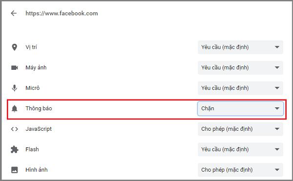 Hình ảnh optimized 72dh của Cách chặn mọi thông báo nổi trên màn hình Facebook và Messenger tại HieuMobile