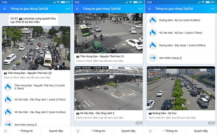 Hình ảnh optimized 7mja của Cách xem tuyến đường kẹt xe và ngập nước qua 685 camera trên Zalo tại HieuMobile