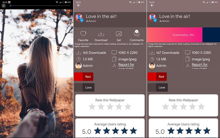 Hình ảnh optimized bqb2 của Tải Wallpaper Club: Kho hình nền Android tự thay đổi, không quảng cáo tại HieuMobile