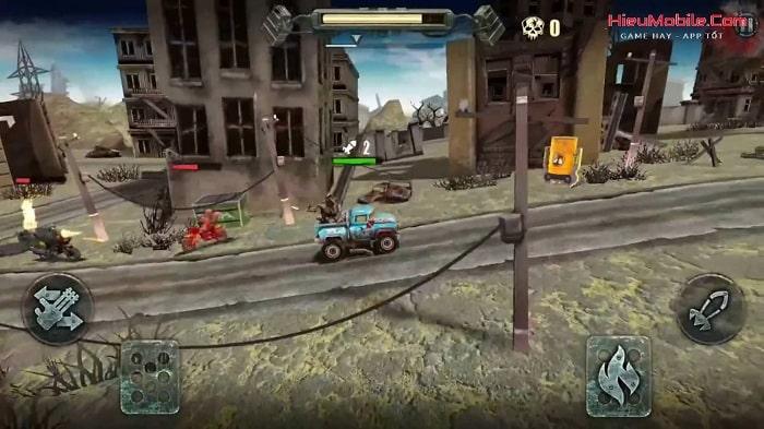 Hình ảnh optimized gude của Tải game Dead Paradise: The Road Warrior: Đua xe bắn súng cực đỉnh tại HieuMobile