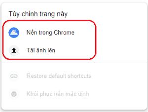 Hình ảnh optimized hmnm của Lấy ảnh cá nhân trong máy làm hình nền khi mở tab mới cho Chrome tại HieuMobile