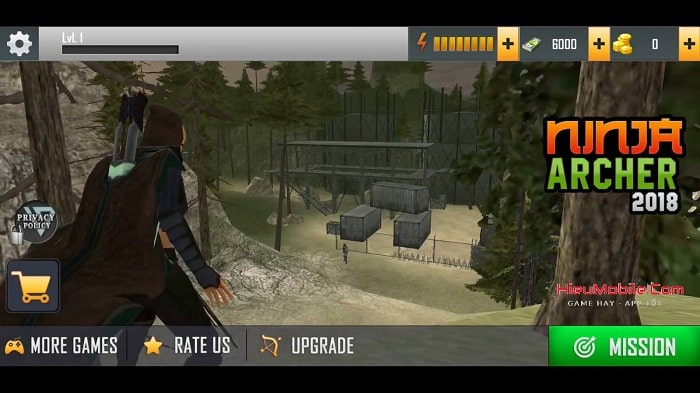 Hình ảnh optimized hvq4 của Tải game Ninja Archer Assassin: Ninja sát thủ bắn cung tên góc nhìn thứ nhất tại HieuMobile