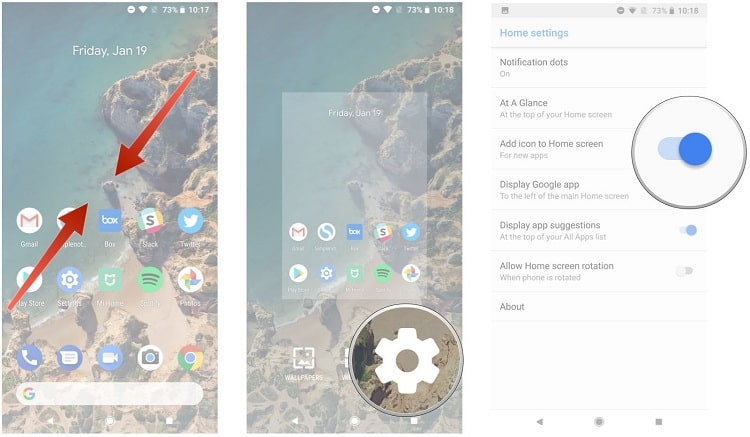 Hình ảnh optimized hy2u của Cách ẩn hiện ứng dụng trên điện thoại Android sau khi cài đặt từ Google Play tại HieuMobile