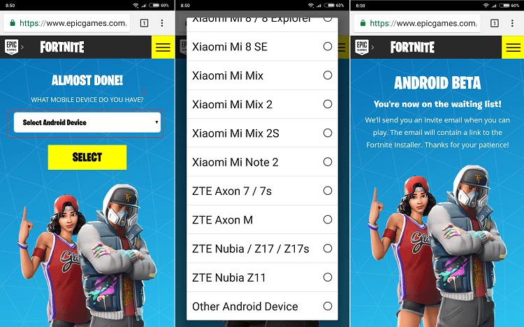 Hình ảnh optimized jray của Cách đăng ký tải game Fortnite Mobile phiên bản Android thử nghiệm tại HieuMobile