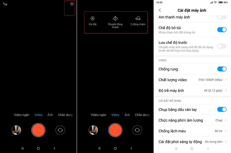 Hình ảnh optimized kj57 của Cách quay video chuyển động chậm (slow motion) 60fps cho các máy Xiaomi tại HieuMobile