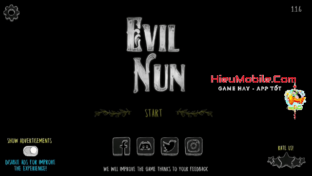 Hình ảnh optimized kvcy 1 của Tải game Evil Nun: Chạy trốn khỏi trường học của Bà sơ ma tại HieuMobile
