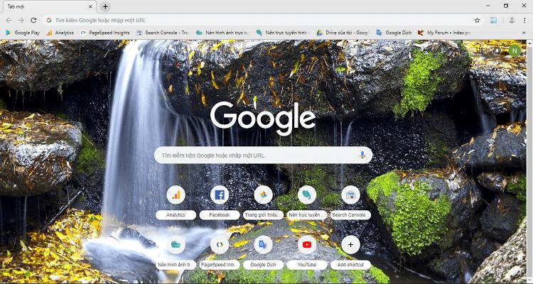 Hình ảnh optimized n1tr của Thay đổi giao diện và hình nền Google Chrome trên điện thoại, máy tính tại HieuMobile