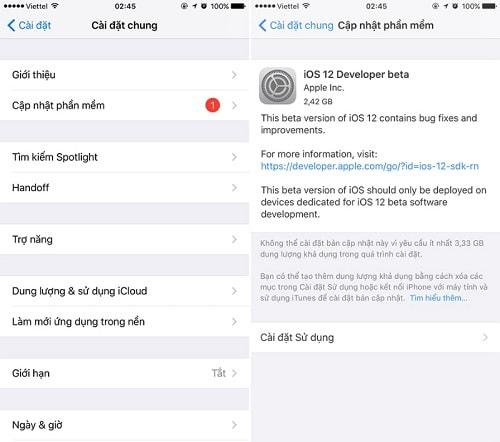 Hình ảnh optimized nzzn của 2 cách sửa lỗi iPhone hiện thông báo yêu cầu cập nhật iOS 12 Beta liên tục tại HieuMobile
