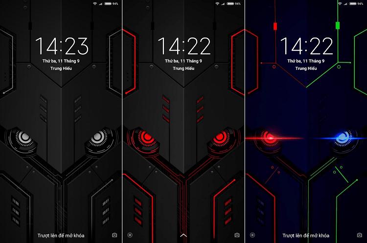 Hình ảnh optimized pjqj của Chia sẻ bộ hình nền Black Tech mắt cú amoled phát sáng trong đêm tại HieuMobile