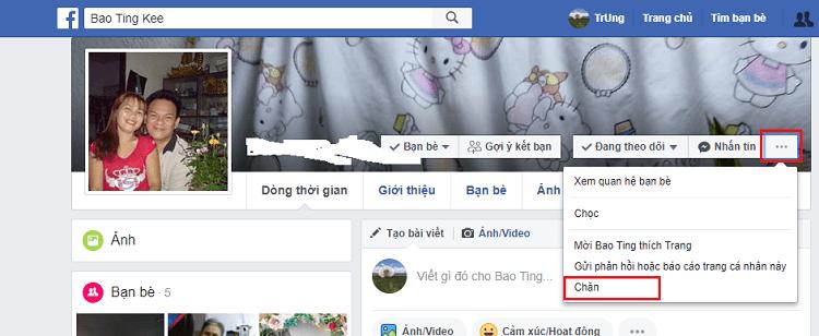 Hình ảnh optimized pmew của Cách chặn tương tác và tin nhắn từ người khác khi sử dụng Facebook tại HieuMobile