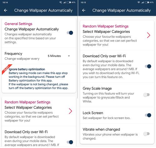 Hình ảnh optimized qocw của Tải Wallpaper Club: Kho hình nền Android tự thay đổi, không quảng cáo tại HieuMobile