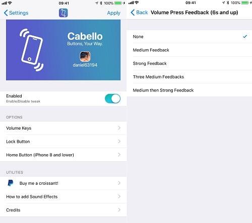 Hình ảnh optimized utsy của Cách thêm âm thanh và rung khi bấm các phím vật lý trên iPhone tại HieuMobile
