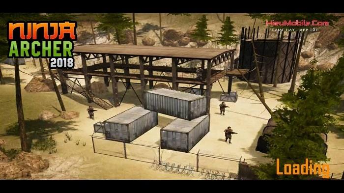 Hình ảnh optimized xuej của Tải game Ninja Archer Assassin: Ninja sát thủ bắn cung tên góc nhìn thứ nhất tại HieuMobile