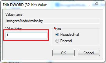 Hình ảnh optimized y8fw của Cách loại bỏ chức năng mở cửa sổ ẩn danh trên Google Chrome tại HieuMobile