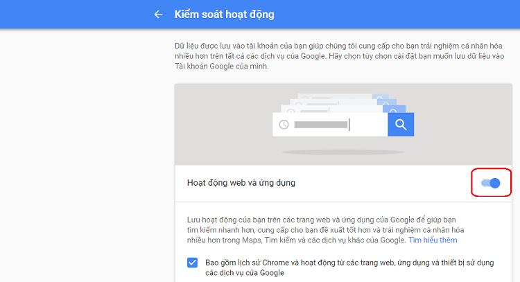 Hình ảnh optimized ylzt của Cách không cho Google theo dõi khi sử dụng điện thoại và máy tính tại HieuMobile