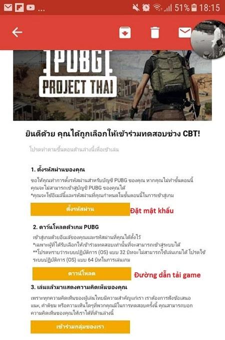 Hình ảnh optimized 2ynk của Cách đăng ký tài khoản tải game và cấu hình chơi PUBG Project Thái tại HieuMobile