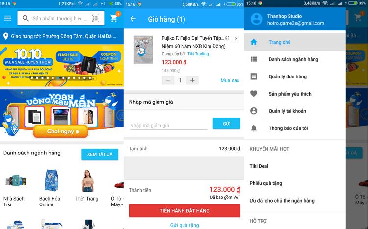 Hình ảnh optimized 49x8 của Tải Tiki: Ứng dụng mua sắm trực tuyến giá rẻ trên điện thoại tại HieuMobile
