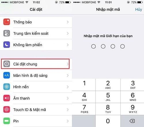 Hình ảnh optimized 5qmw của Cách chặn các trang web đen trên iPhone không cần phần mềm tại HieuMobile