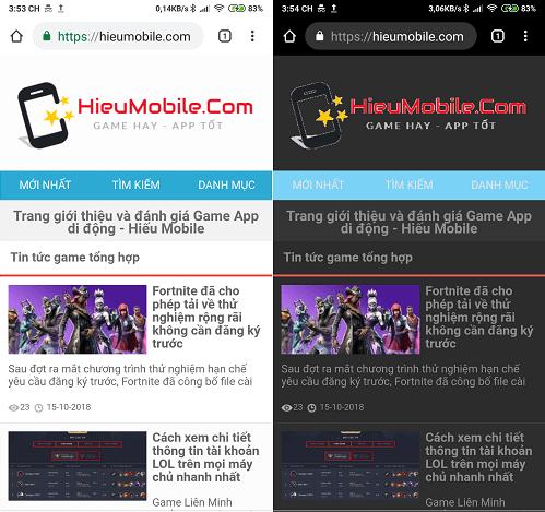 Hình ảnh optimized 6hx6 của Tải Kiwi Browser: Giống hệt Chrome, có chặn quảng cáo và chế độ ban đêm tại HieuMobile