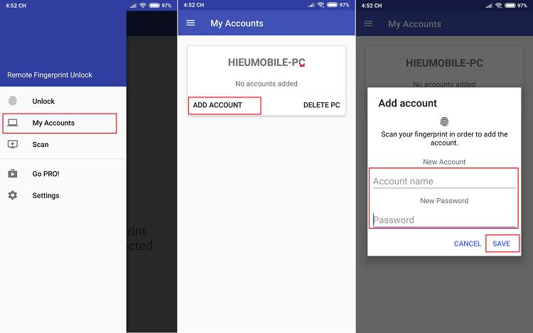 Hình ảnh optimized 7puo của Cách mở khóa máy tính Windows từ xa bằng vân tay trên điện thoại Android tại HieuMobile