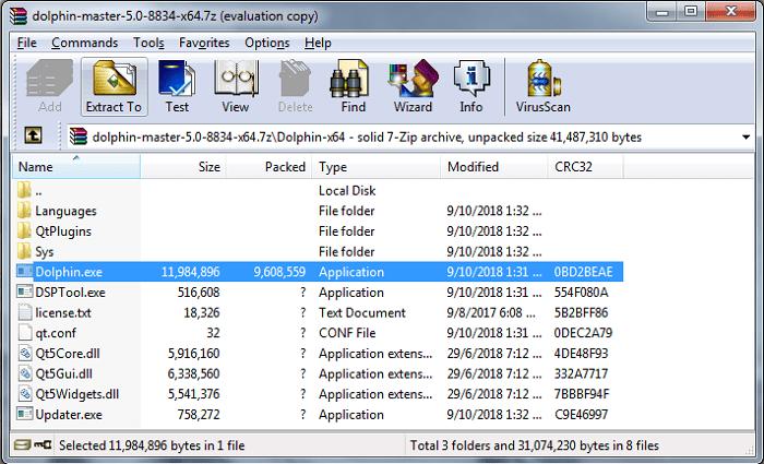 Hình ảnh optimized aett của Tải Dolphin Emulator: Giả lập chơi game Wii trên máy tính và Android tại HieuMobile